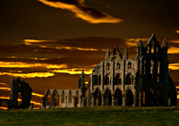 Evening at Whitby Abbey